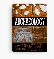 Archaeology Canvas Print