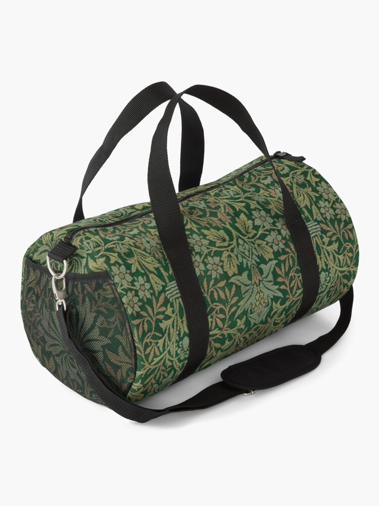 Alternate view of Flower Garden by William Morris, 1879 Duffle Bag