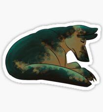 Sleeping shepherd   Sticker