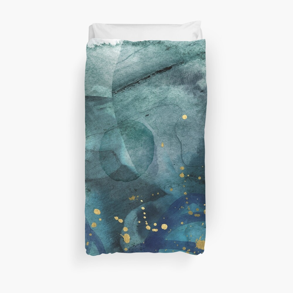 Ocean of Reality Duvet Cover