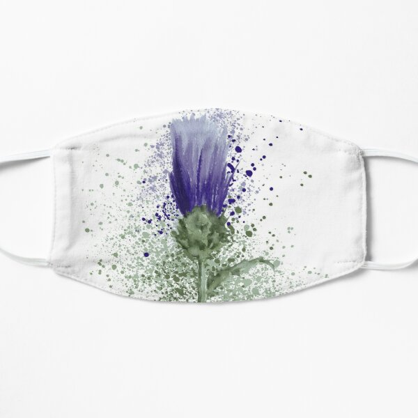 The Thistle  Flat Mask