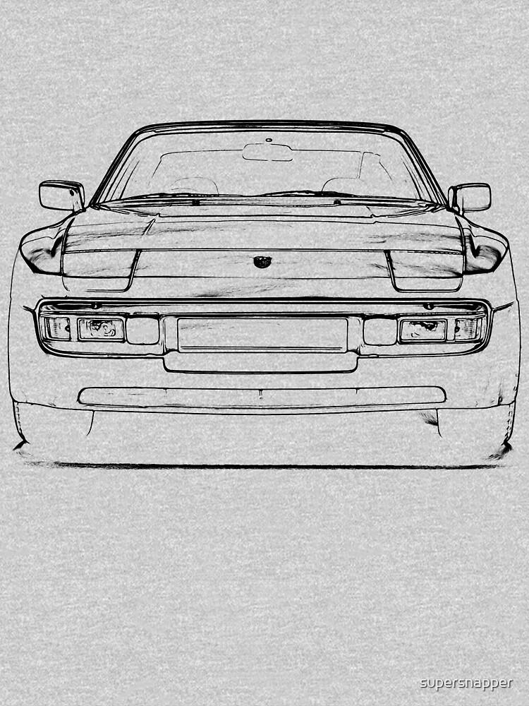 Porsche 944 Front black by supersnapper