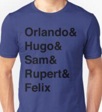 The Maccabees names Unisex T-Shirt