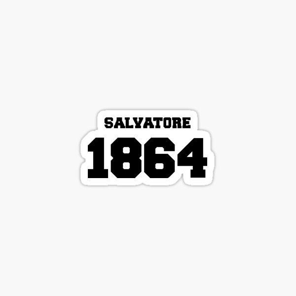 Team Salvatore  Sticker