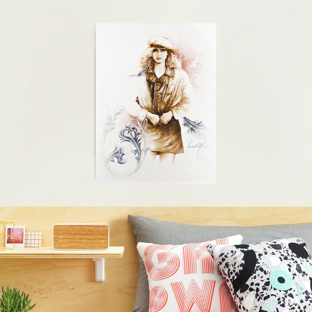 German Girl Photographic Print