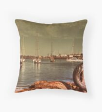 Wollongong Harbour Throw Pillow