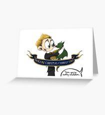 Dragon Christmas Sale Greeting Card