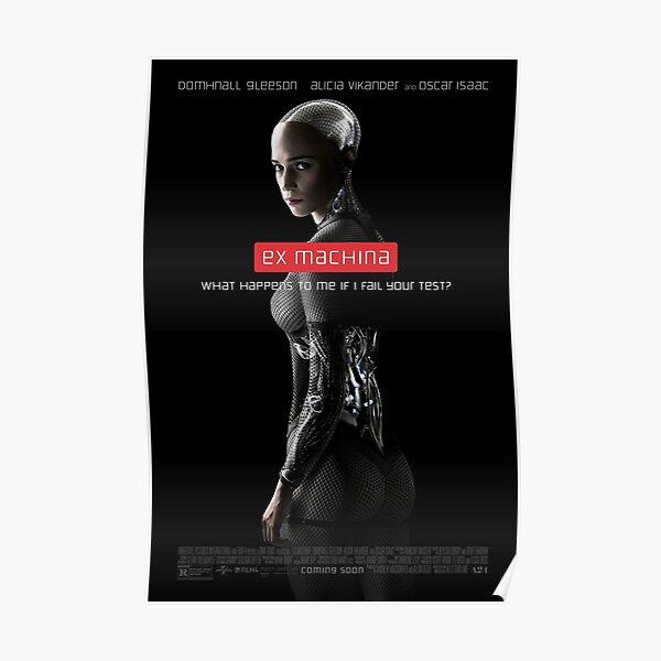 Alicia Vikander Movie Cinema Poster Art EX MACHINA 2014 Alex Garland