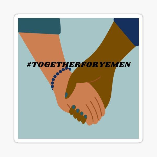 #TogetherforYemen Sticker