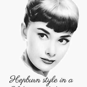 Hepburn style in a Hilton world! - light by sandnotoil