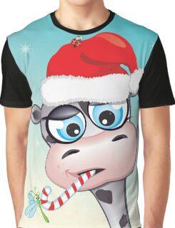 Critterz - cow Christmas spirit Graphic T-Shirt