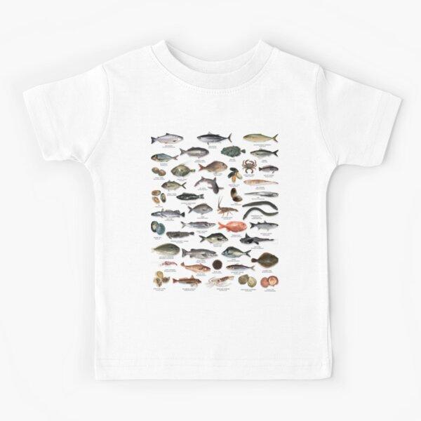 NZ fish species Kids T-Shirt