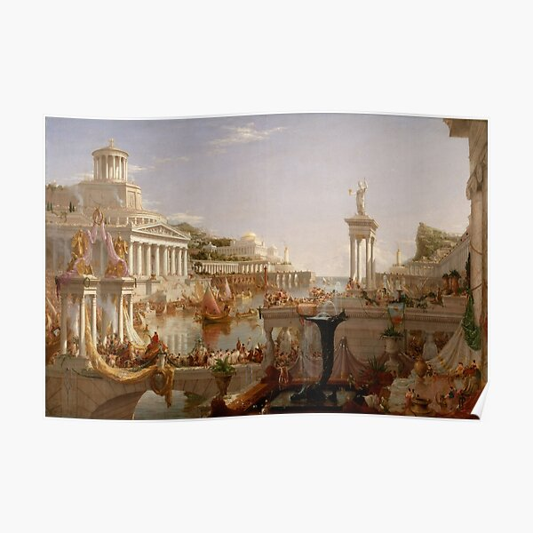 The Course of Empire - Consummation Poster