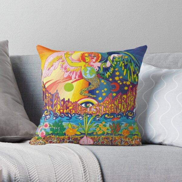 The Incredible String Band Album 5000 Spirits Throw Pillow
