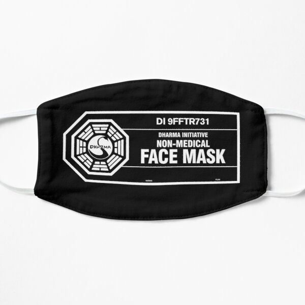 Dharma Initiative Face Mask (white) Mask