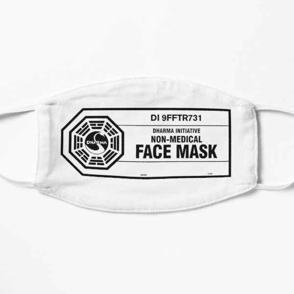 Dharma Initiative Face Mask (black) Mask