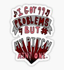 Perfect Pitch Sticker