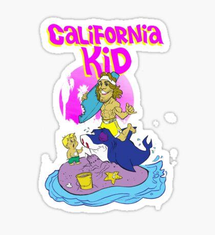 Urijah Faber: The California Kid Sticker