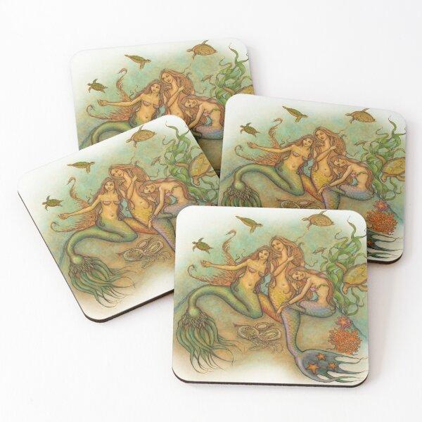 Mermaids Coasters (Set of 4)