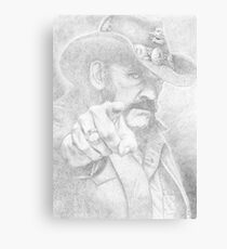 Lemmy from Motorhead Canvas Print