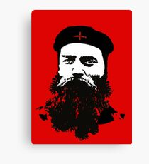 Ned Kelly Meets Che - any colour shirt Canvas Print