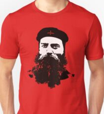 Ned Kelly Meets Che - any colour shirt Unisex T-Shirt