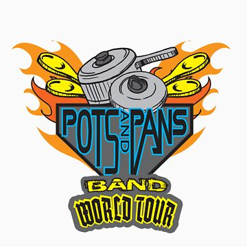 POTS & PANS BAND by UrbanBratz