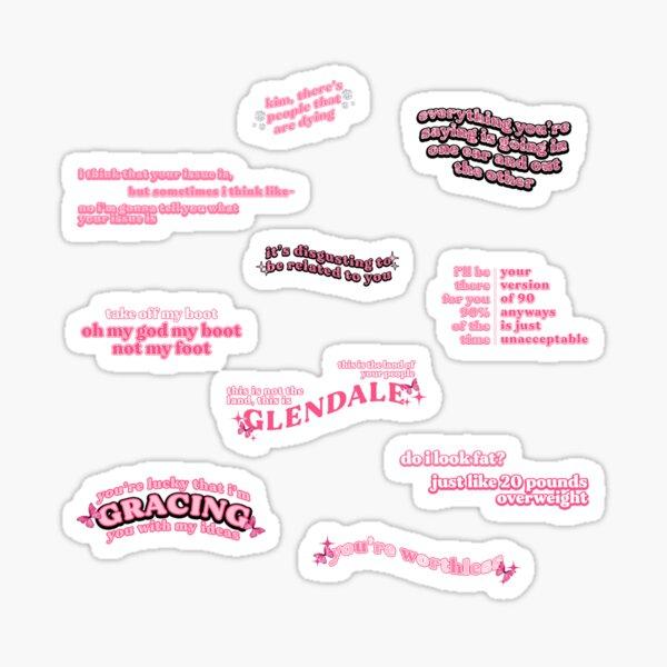 rosa kardashian tiktok Tonzitate Sticker