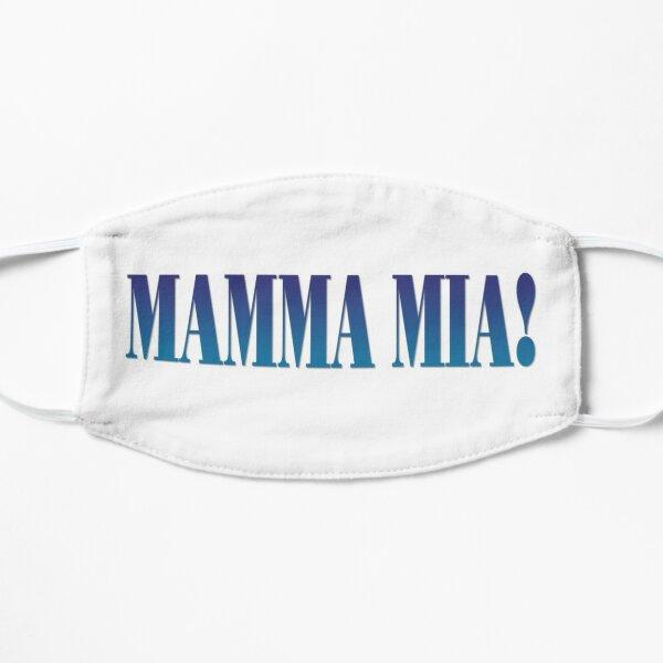 Mamma Mia Logo Flat Mask
