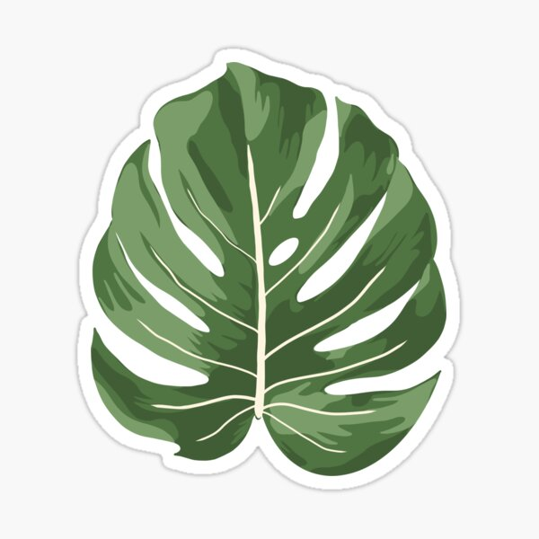 Palm Leaf Stickers Redbubble