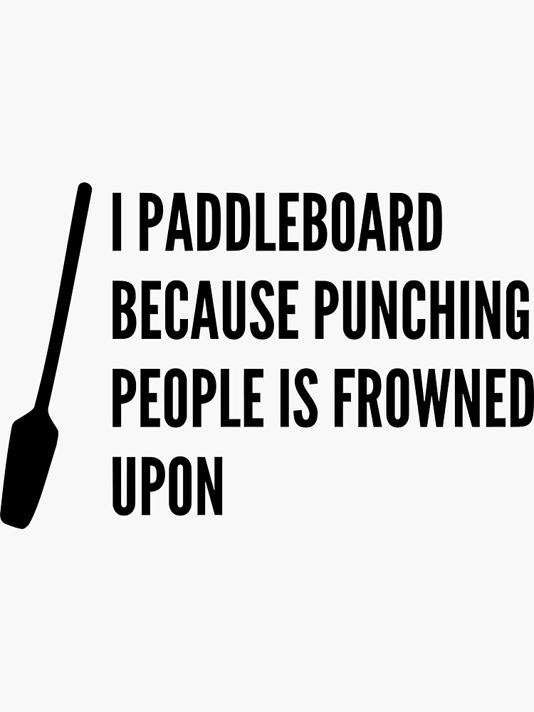 Funny Paddleboard SUP by rbdesigned
