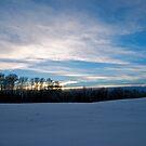 Winter Landscape Alberta, Canada by Jessica Chirino Karran