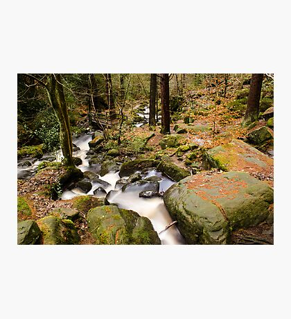 Wyming Brook Valley Photographic Print