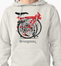 Brompton Bicycle Folded Pullover Hoodie