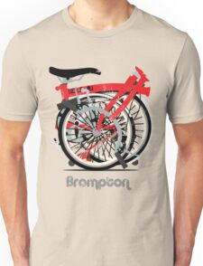 Brompton Bicycle Folded T-Shirt