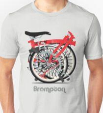 Brompton Bicycle Folded Unisex T-Shirt