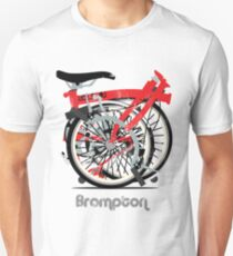 Brompton Bicycle Folded Unisex T-Shirt