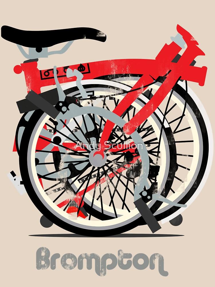 Brompton Bicycle Folded | Unisex T-Shirt