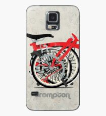 Brompton Bicycle Folded Case/Skin for Samsung Galaxy
