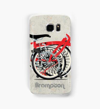 Brompton Bicycle Folded Samsung Galaxy Case/Skin