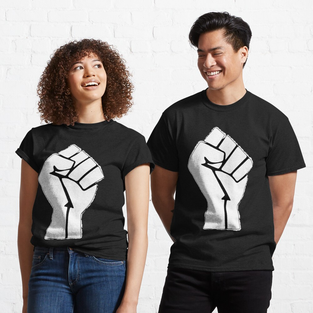 Raised Fist, Black Lives Matter Classic T-Shirt