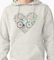I Love My Bike Pullover Hoodie