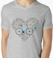 I Love My Bike Men's V-Neck T-Shirt