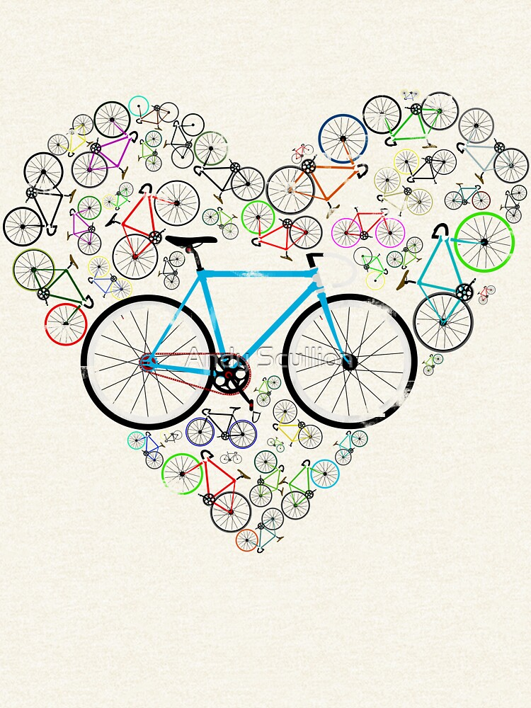 I Love My Bike by AndyScullion