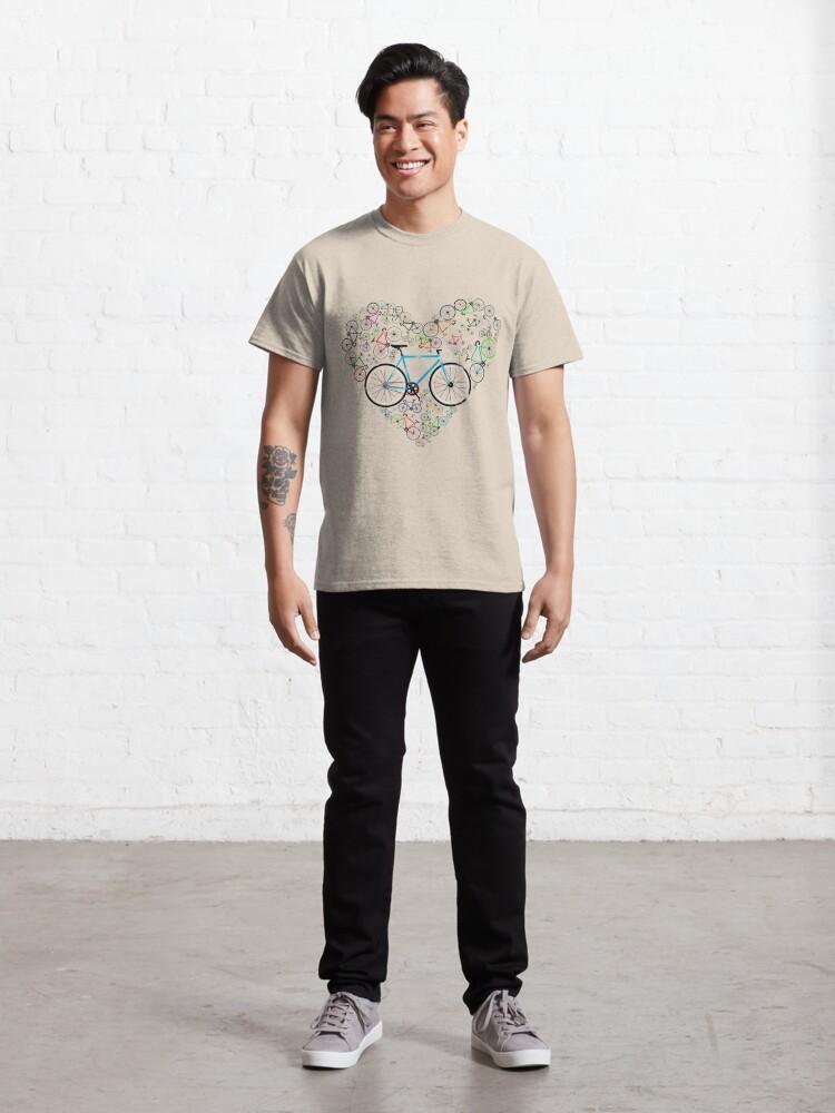 Alternate view of I Love My Bike Classic T-Shirt