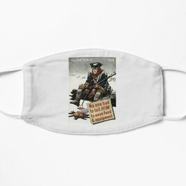 Valley Forge Soldier -- WW2 Propaganda Flat Mask
