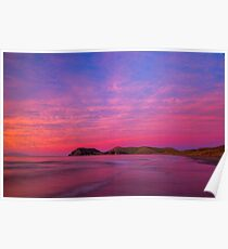 Port Jackson sunset II Poster