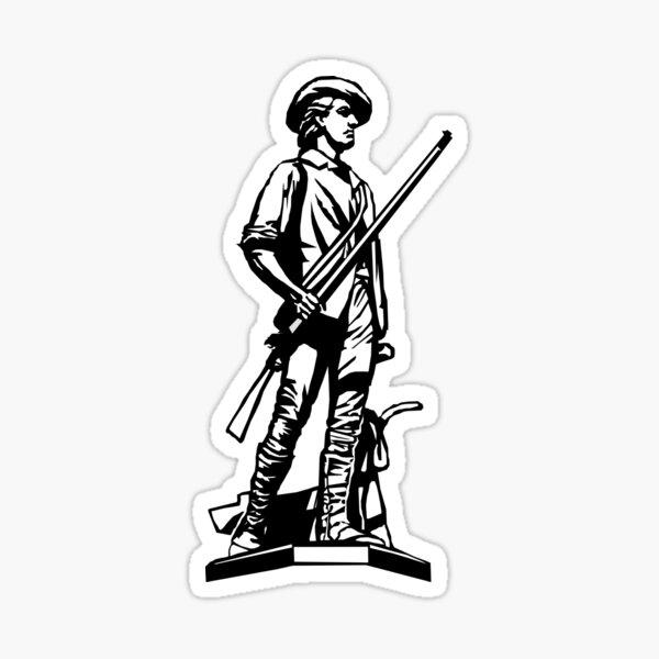 Minuteman Sticker