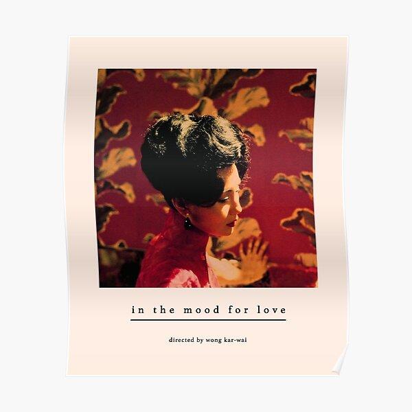 In the mood for love (Wong Kar-wai) Tony Leung, Maggie Cheung, Hong-Kong Poster
