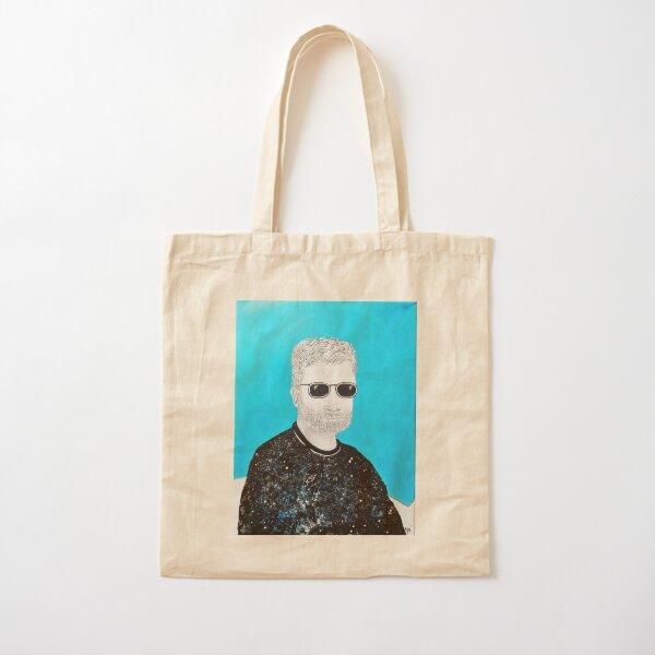 Portrait of Hugh A. D. Spencer Cotton Tote Bag